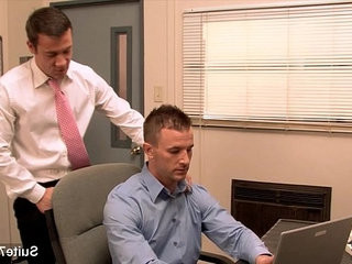 Gorgeous gay gets her ass banged in the office | ass collection   banged   bigcock   gays tube   getting   gorgeous