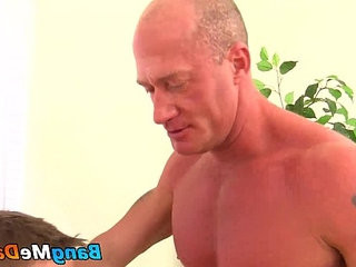 Eric West gets a bareback pounding from Jake Noriss raw cock | bareback  blowjobs  cocks  getting  pounding