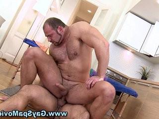 Straighty facialized hard by bear | bears best  facial top  hardcore