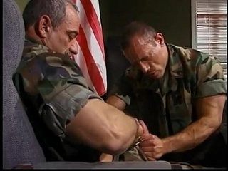 Army stud sucks and fucks mature captains cock | army vids   cocks   fucking   mature   stud   sucking