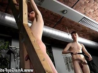 Gay indian cock Victim Aaron gets a whipping, then gets his | cocks  gays tube  getting  indian man  spanking