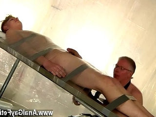 Gay movie of Strapped down and at the mercy of his daddy, Alex is | blondhair   daddy   gays tube