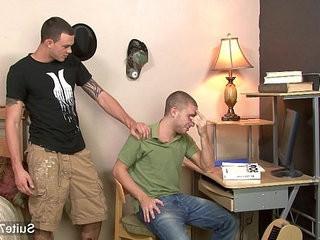 Tattooed gays sucking their large pricks | gays tube  large  sucking  tattooed