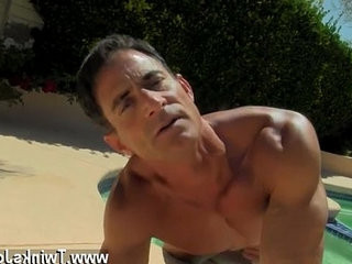 Masturbating to your brothers underwear gay Daddy Poolside Prick | brothers   daddy   gays tube   masturbating   outdoors   underwear