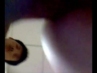 Khmer student in bathroom | bathroom  massage  student
