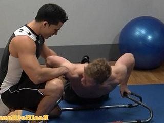 Muscular beefy pornstar gives bj | gives  jocks  muscular  pornstar