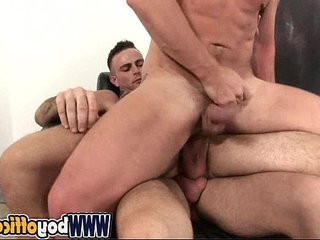 Cock Office Threesome.   bigcock  cocks  office  threesome
