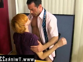 Hot gay Teacher Mike Manchester is working late, but hes got his | but clips   gays tube   kissing   teacher