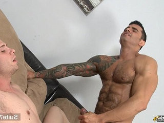 Horny tattooed married guy gets fucked by a gay | fucking  gays tube  getting  horny  married  tattooed