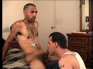 Vinnie Gives Straight Latino Enrique A Killer BJ | gives  handjob  latinos man  straight