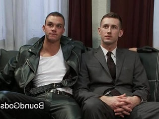 Tied up and suspended gay shocked | feet top  gays tube  tight movie