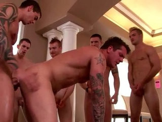 Nasty jock gets multiple cum loads | cums  getting  group film  jocks  nasty