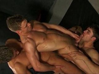 Hot Trio Barebacking | bareback  hunks best  trio man