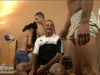 Nasty gay coach enjoying team play as a warm up | boys  enjoying  gays tube  nasty  playing
