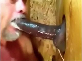 Eating Black Cum Gloryhole | black tv  cums  eating  gloryhole